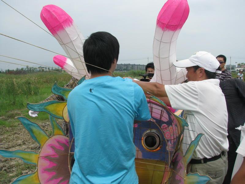龙王风筝骨架制作图解